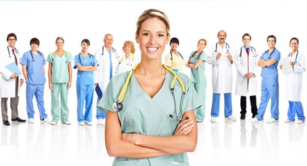الطاقم الطبي