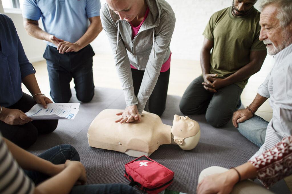 الإسعافات الأولية للذبحة الصدرية