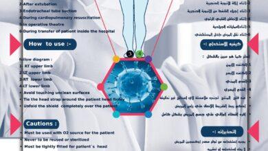 Photo of ايجبشيان ميديكال شيلد درع جديد لتقليل الإصابة بفيروس كورونا «كوفيد-19» بين الأطقم الطبية
