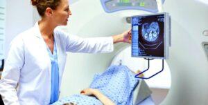 الأشعة المقطعية على المخ