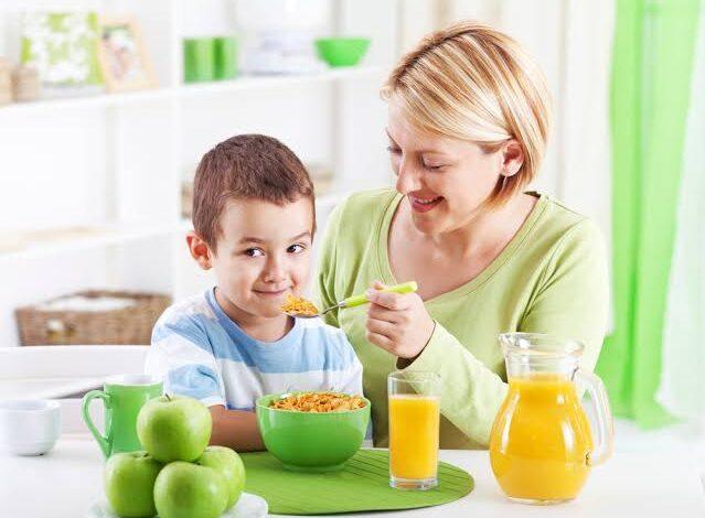 المكملات الغذائية للأطفال